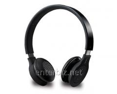The RAPOO H6060 bluetooth stereo headset is black