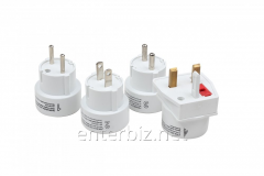 A set of plugs adapters Gembird TPA-002 for all
