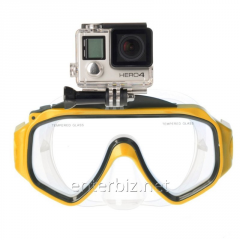 Mask for swimming of SJCAM Dive Mask Yellow, a