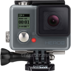 Action chamber of GoPro HERO+LCD, ENGLISH/RUSSIAN