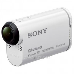 Action chamber of Sony Action Cam HDR-AS100V with