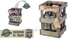 Ящик на 4 бутылки, арт. Y12/4C
