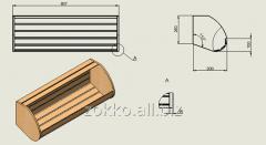 Basket average grain Karaway KSH-1 950kh400kh300mm