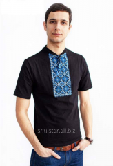 The men's embroidered t-shirt No. 10402