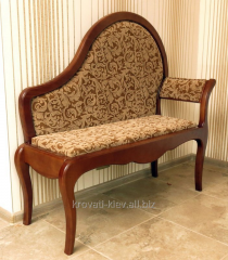 Banquette with a back