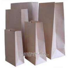 Paper packages of the bottom, packages sachets. We