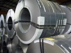 Steel electrotechnical holodnokatany