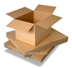 Cardboard for packaging in the furniture industry.