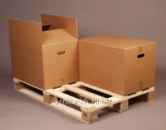 Cardboard packaging PKS brands. Cardboard box KK