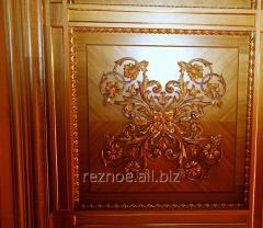 Декоративные панели из дерева на стены