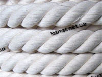 Rope cotton hummock twist twisted GOST 30055-93
