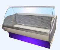 Low-temperature refrigerating show-windows