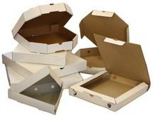 Packaging cardboard for pizza. To order. Kiev.