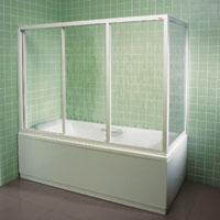 Шторка для ванны AVDP3-120 GRAPE
