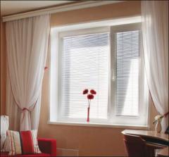 Persianas para janelas em PVC