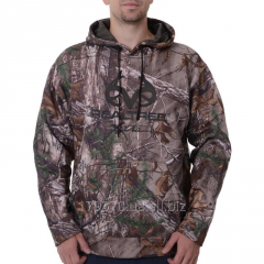 Толстовка для охоты и рыбалки Men's Realtree & Mossy Oak Camo Performance Pullover Fleece Hoodie