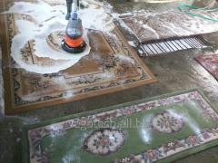 Ковры и ковровые изделия -стирка и чистка.Убираем