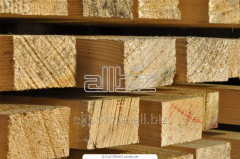 Bar, pine or fir-tree, natural humidity