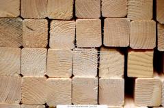 서까래. 소나무 나 전나무. 크기 50h100h (4000, 4500), 수출