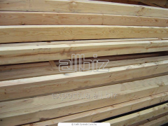 Boards of the soft species of wood. Pine or spruce