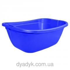 Basin rectangular Blue