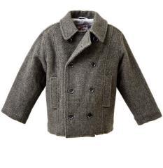 Пальто детские. Пальто Гарри д/м серый.
