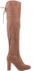 Beige female jack boots dedugu Art model: