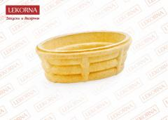 The bast basket is wafer, piece weight, gr - 0,83.