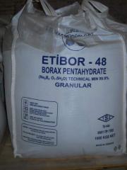 Sodium tetraborate (borax)