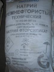Натрій кремнефтористий