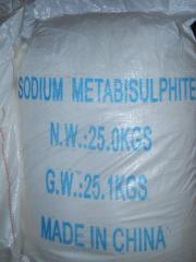 Натрій метабисульфит