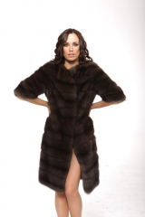 Fur coat from sable