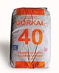 Gorkal cement fire-resistan
