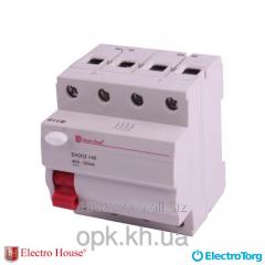 UZO 4p 40A ElectroHouse EH (x)-4x40