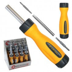 The screw-driver 4 in 1. INTERTOOL VT-1008