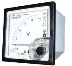 Voltmeters of an alternating voltage of EV 0300