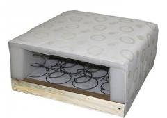 FRAME MATTRESS on the spring BONNEL block, the