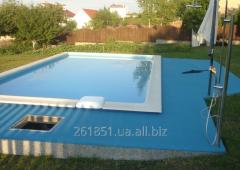 Покрытия для бассейнов, саун, бань