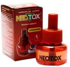 Liquid from mosquitoes of Neotox of 45 nights double action, the 24th piece/unitary enterprise., 192 pieces/box, code 208