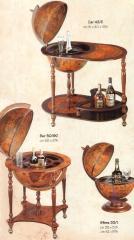 Bars globes, Santelli