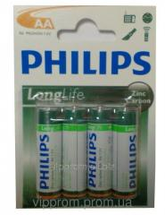 Philips R-6 battery, finger blister, 48sht./unitary enterprise., 864sht./box, code 280