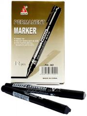 Permanent marker black, 12pcs/UE, 960 PCs./box, code 396