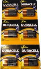 Duracell R-6 battery, finger blister, 12 pieces/squares, 120 pieces/box, code 458
