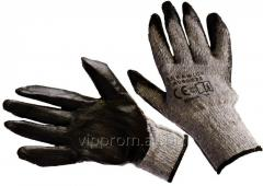 Gloves against cuts and punctures