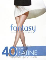 Tights Fantasy Satine 40 Den 2, 3, 4, 5, black, bronze, flesh, shady, code 561