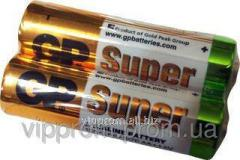 GP-Super R-6 battery, finger technical, 40sht./unitary enterprise., 200 pieces/box, code 972