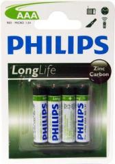 Battery Philips R-03, minipal′čik blister 48 PCs./Pack. 864, PCs./box, code 1121