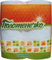 Paper towel Polotenečko, 2pcs/Pack, 16 packages/NL, code 1327