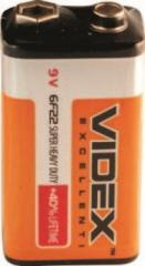 Battery F-22 9 Videx, Krone tech., 24 PCs/BL, 240 PCs./box, code 1902