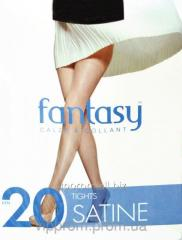 Tights Fantasy Satine 20 Den 2, 3, 4, 5, black, bronze, flesh, shady, RCD 2028